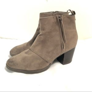 Versatile taupe ankle boots ❤️